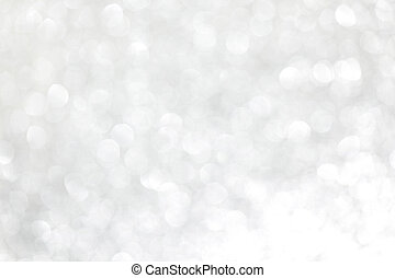 Glittery lights background - Glittery shiny lights silver...
