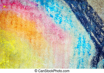 Abstract art background - Abstract hand painted grungy art...