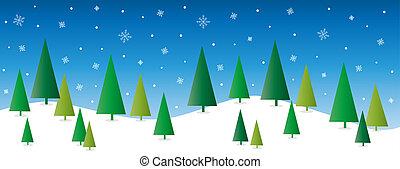 Allegro, Natale, Felice, vacanze,