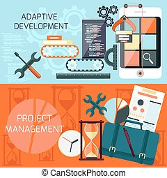 Adaptive development and project management