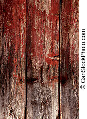 Aged old wood texture, ancient wooden door - Aged old wood...