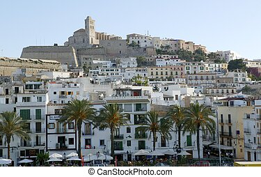 Ibiza from balearic islands in Spain