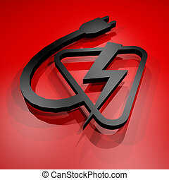 Electric power symbol - Creative design of Electric power...