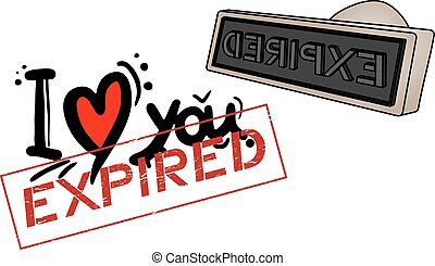Expired love - Creative design of Expired love