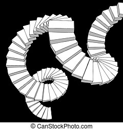 Fantasy stairs - Creative design of Creative design of...