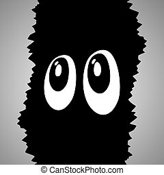 Mystery eyes - Creative design of Creative design of mystery...