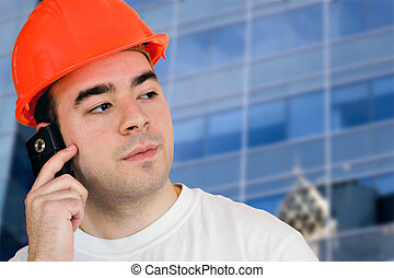 Mobile Construction Worker