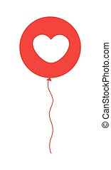 Heart Balloon Design