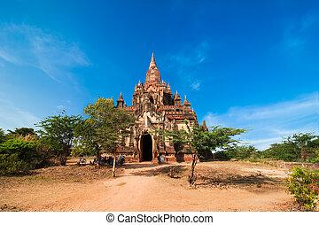 Seinnyet Ama Temple at Bagan, Myanmar (Burma)