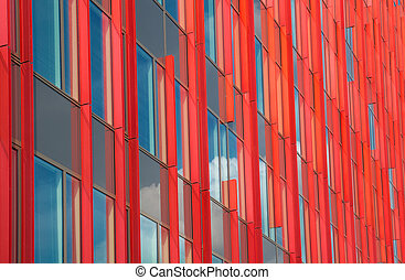 modern office building - exterior of the WTC building in...