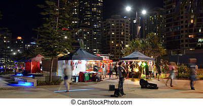 Surfers Paradise Beachfront Markets - Australia - SURFERS...