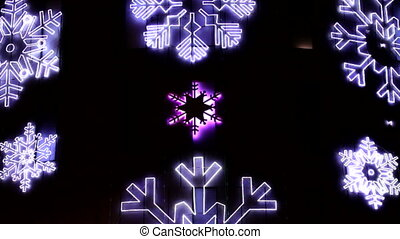 Led Christmas Snowflakes Decoration - Christmas decorations...