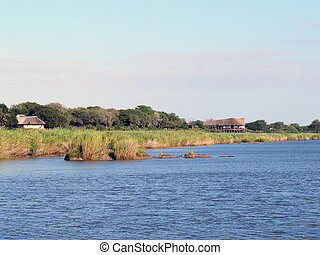 African River Lodge - African Lodge on the mighty Zambezi...