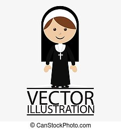 GR DAV 003 - People design over white background, vector...