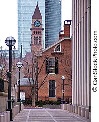 Toronto Clocktower - Toronto downtown: Clock tower....
