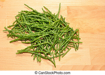 Fresh Marsh Samphire - Fresh marsh samphire a coastal plant...
