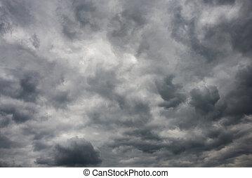 cielo, tempestuoso