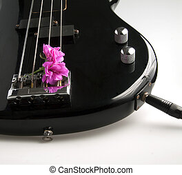 Bass and flower