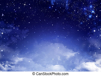 background of the night sky - beautiful background of the...