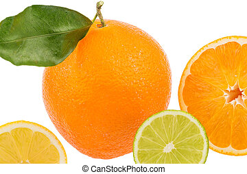 reflection of an orange photo icon for healthy vitamins with...