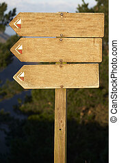 wood billboard blank 2, just add your text