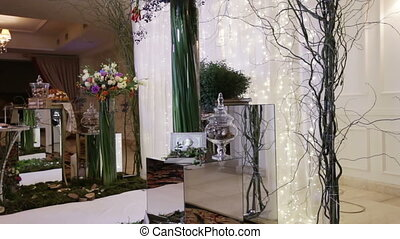 Elements Wedding ceremony - Festively decorated Elements for...