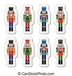 Christmas nutcracker - soldier icon