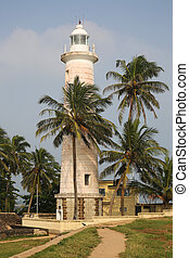 Galle Lighthouse Sri Lanka - the oldest lighthouse of Sri...