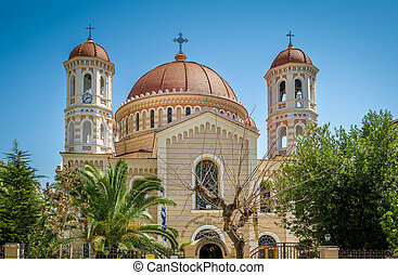 Thessaloniki cathedral - Big beautiful cathedral in summer...