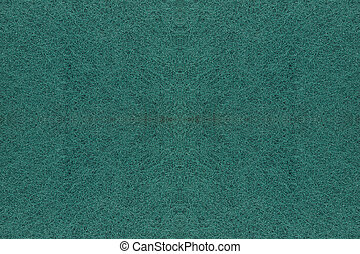 Green abrasive sponge texture background