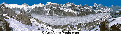 Everest Panorama from Gokyo Ri - Everest Panorama as seen...