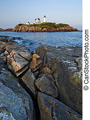Nuble lighthouse vertical