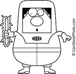 Radioactive Cartoon Hazmat