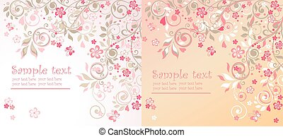 Beautiful greeting cards