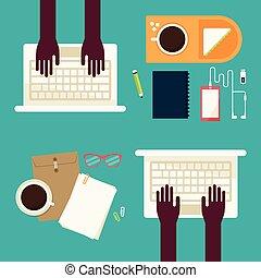 Workspace, vector