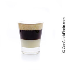 b52 - a cocktail compound, condensed milk, coffee and...