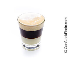 b54 - a cocktail compound, condensed milk, coffee and...