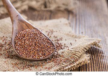 sano, rojo, Quinoa,