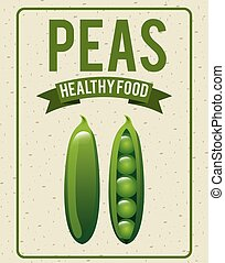 organic healthy food design , vector illustration