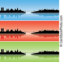 Colourful Istanbul - illustration of Colourful Istanbul...