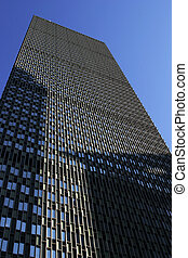 Prudential Building - High rise office building in downtwon...