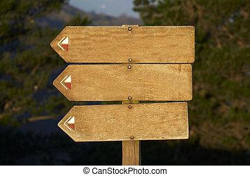wood billboard blank, just add your text