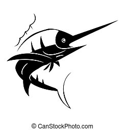 Marlin Fish Tattoo