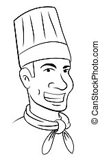 Head chef Clipart Vector Graphics. 1,334 Head chef EPS ...