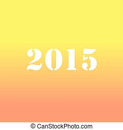 creative happy new year 2015 design