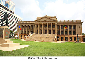 Old Parliment Building Colombo - the Old Parliment Building...