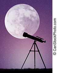 Telescope - illustration of telescope