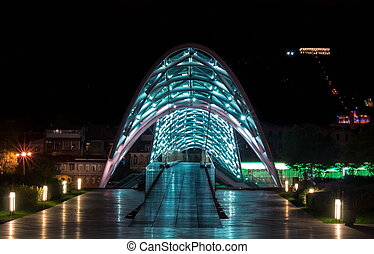 Peace Bridge - Bridhe of Peace. Tbilisi. Georgia