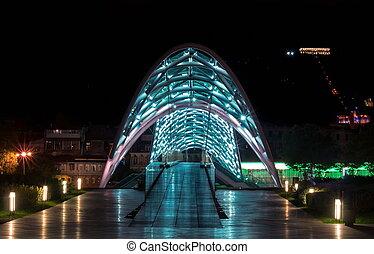 Peace Bridge - Bridhe of Peace. Tbilisi. Georgia