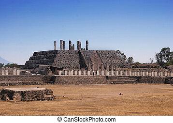 Tula, Ruinas,